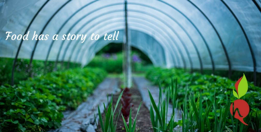Food has a STORY TO TELL